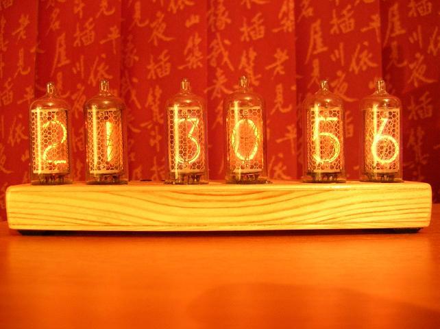 Ламповые часы - Nixie Clock